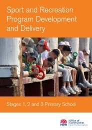 Sport and Recreation Program Development and Delivery: Stages 1