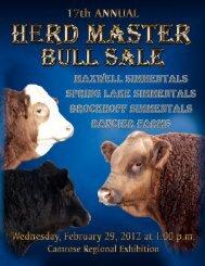 to view catalogue - Bouchard Livestock International