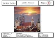 Mühldorfer Radlstern Mühldorf - München - Stadt Mühldorf am Inn