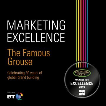 The Famous Grouse - The Marketing Society