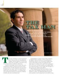 THE TAX MAN - Stanford Lawyer