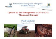 Options for Soil Management in 2012-2013: Tillage and ... - IAgrE