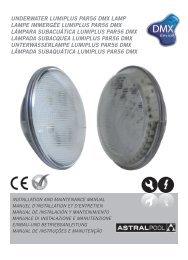 underwater lumiplus par56 dmx lamp lampe immergée ... - AstralPool