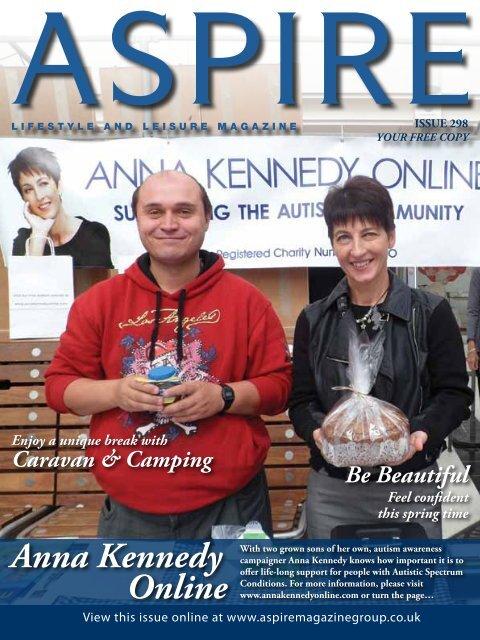 Anna Kennedy Online - Aspire Magazine