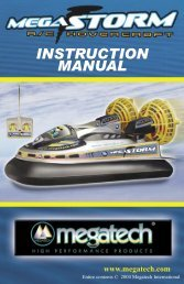 MegaStorm Instruction Manual