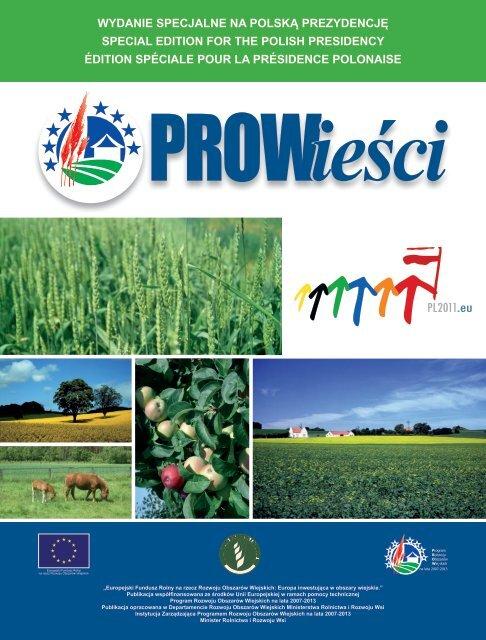 PROWieści - wydanie specjalne na Polską Prezydencję