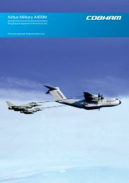 A400M Refuelling Systems Datasheet - Cobham plc