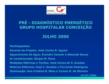 Hospital Conceição - Prefeitura de São Paulo