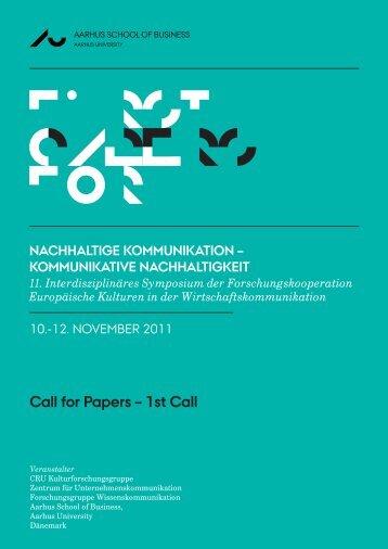 EUKO_2011_First Call_German-Edition.indd - Europäische ...