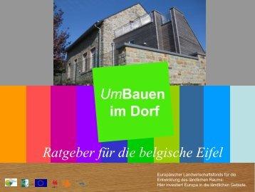 UmBauen im Dorf - WFG.be