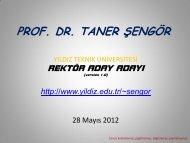 pdf dosyası - Yıldız Teknik Üniversitesi