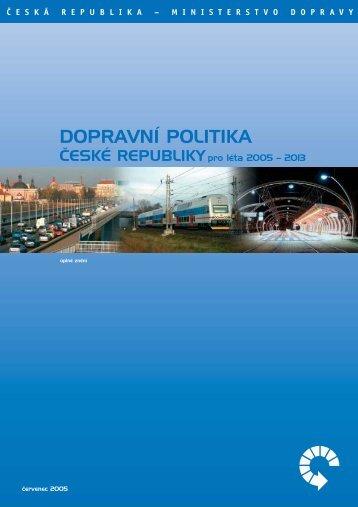 Dopravní politika České republiky pro léta 2005–2013