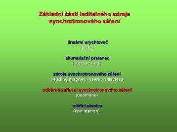 Ing. Vladimír Cháb, CSc. - popis zařízení
