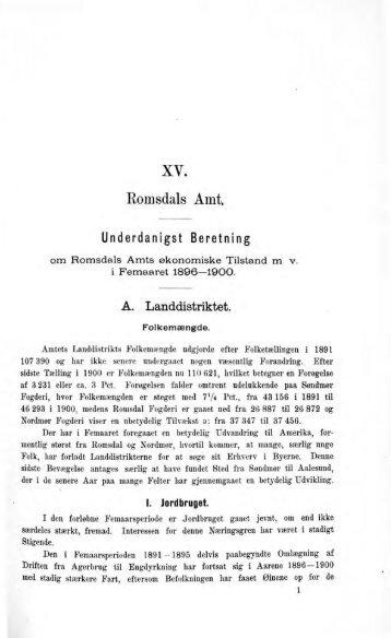 xv. Romsdals Amt - Romsdal Sogelag
