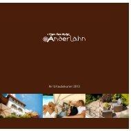 Ihr Urlaubskurier 2013 - Klein Fein Hotel Anderlahn