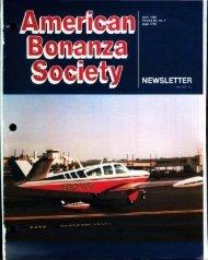 April 1986 - American Bonanza Society