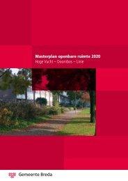 Masterplan openbare ruimte 2020 Hoge Vucht ... - Gemeente Breda