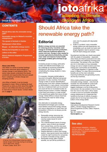 jotoafrika - Africa Adapt