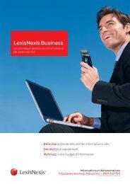 Plaquette LN Business 11VM030-2.indd - LexisNexis