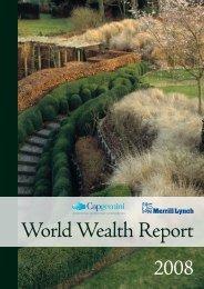 2008 World Wealth Report - Maths-fi.com
