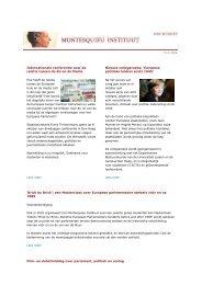 Internationale conferentie over de relatie tussen de EU en de Media ...