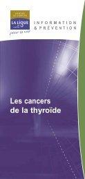 Les cancers de la thyroïde - Pataclope83.com