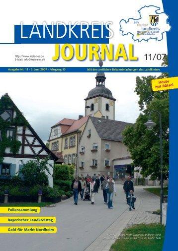 6. Juni 2007 - Landkreis Neustadt an der Aisch - Bad Windsheim