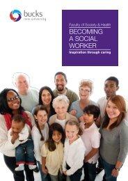 BECOMING A SOCIAL WORKER - Buckinghamshire New University