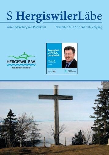 S Hergiswiler Läbe online {PDF 3.055 MB - Peter Helfenstein