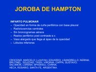 JOROBA DE HAMPTON - Congreso SORDIC