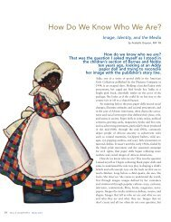 How Do We Know Who We Are? - TWO HUNDRED YEARS OF ...