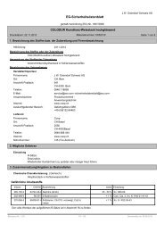 EG-Sicherheitsdatenblatt - Colodur
