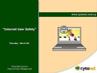 """Internet User Safety"""