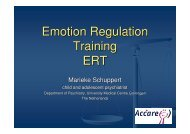 Emotion Regulation Training ERT - Borderline Personality Disorder