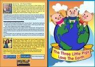 The Three Little Pigs Love The Earth - Podar Jumbo Kids Plus