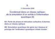 Sixième cours (11/12/06) PDF