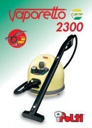 Vaporetto 2300 x PDF - Polti