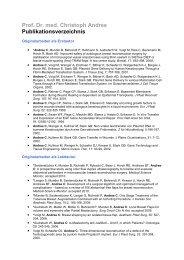 Publikationsverzeichnis Prof. Dr. med. Christoph Andree (PDF, 58 KB)