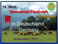 Presentation Congress Germany 2012 - WSFF