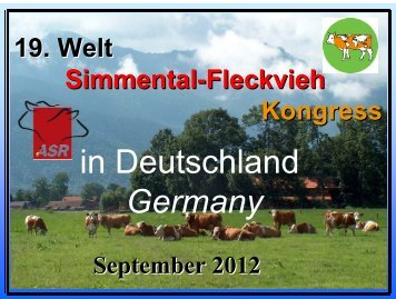 Presentation Congress Germany 2012 - WSFF