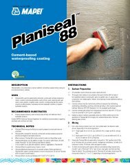 Planiseal 88 Planiseal 88 - Specialtyproducts.net