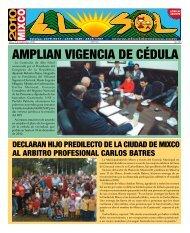 AMPLIAN VIGENCIA DE CÉDULA - ElsoldeMixco.com