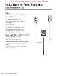 Husky Transfer Pump Packages - MRO Stop
