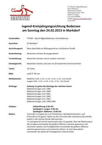die Einladung Kreisjahrgangssichtung Bodensee - TTVWH Bezirk ...