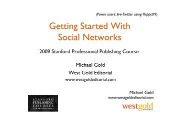 GOLD - Getting Started With Social Networks.pdf