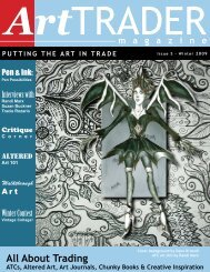 All About Trading - ArtTrader Magazine