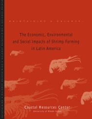Maintaining a Balance: the Economic, Environmental and Social ...