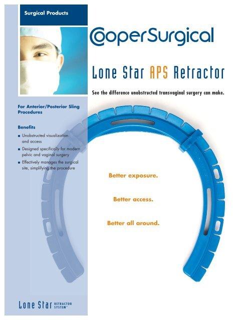 Lone Star APS Retractor - Urogyn.org