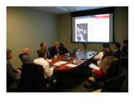 Pictures from the ESE External Advisory Board (September 23, 2011).