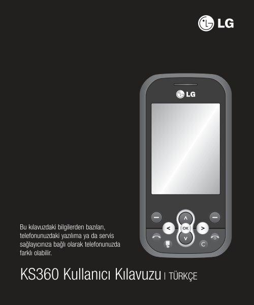 KS360 Kullanıcı Kılavuzu - lg ailesi